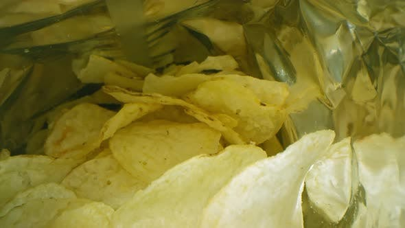 Thumbnail for Isolated Bag Of Potato Chips