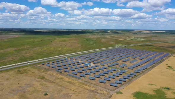 Thumbnail for Solar Panels Aerial View 9