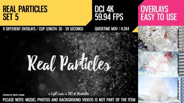 Thumbnail for Real Particles (4K Set 5)