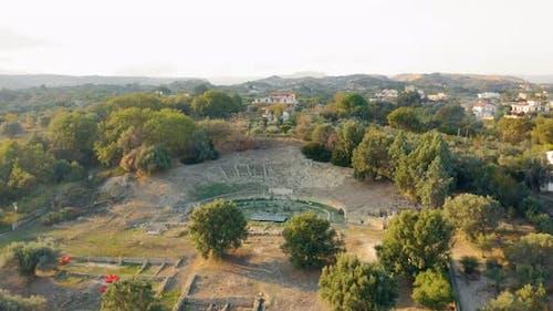 Ancient Roman Greek Amphitheater
