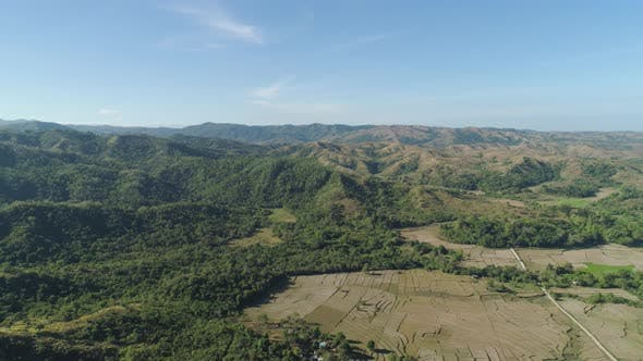 Thumbnail for Mountain Landscape with Valley Island of Luzon, Philippines.
