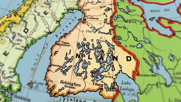 Thumbnail for Finland On World Map
