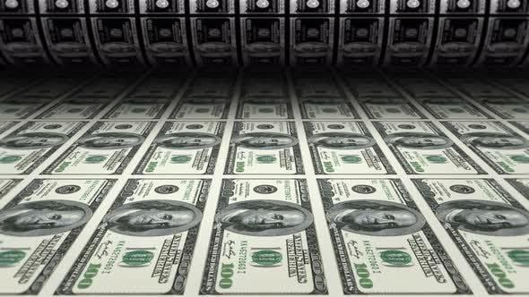 Thumbnail for Geld drucken Dollar