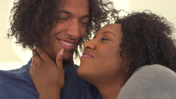 Thumbnail for Black couple being sweet