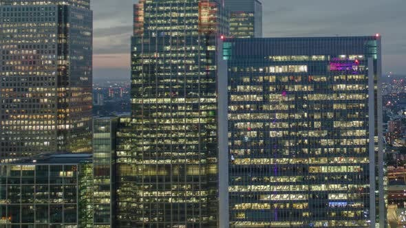 Thumbnail for docklands canary wharf london finance city money business offices