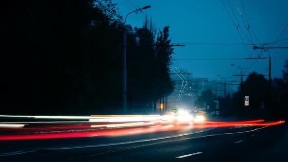 Thumbnail for Night Cars Lights