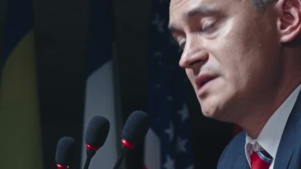 Thumbnail for Speech at Political Convention