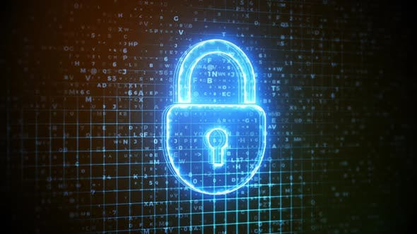 Thumbnail for Script Digital Data Protection Concept