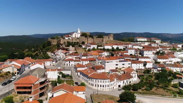 Thumbnail for Aerial Shot of Penela, Portugal