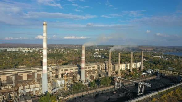 Thumbnail for Power Plant Aerial View 18