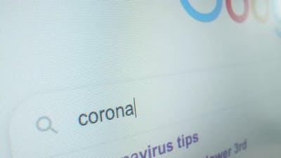 Corona Virus Search