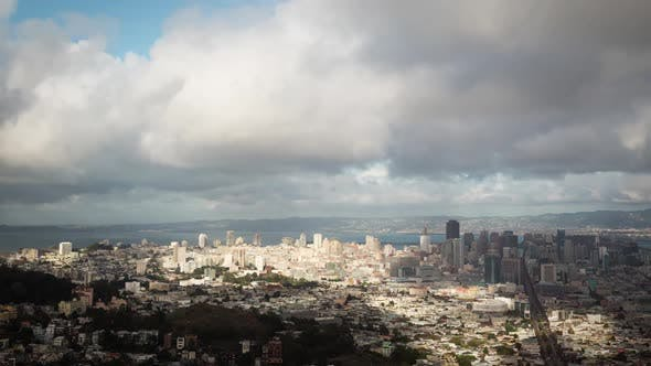 Thumbnail for Morning Clouds Over San Francisco Time Lapse