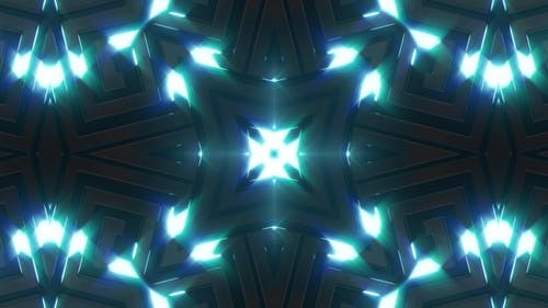 Blue Lighting Neon Background V3