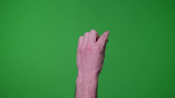 Thumbnail for Finger Gestures Pack 2 On Greenscreen