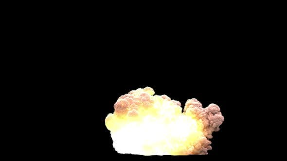 Thumbnail for Gasoline Explosion 1