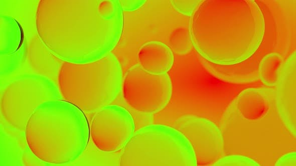 Thumbnail for Abstract colorful bubbles