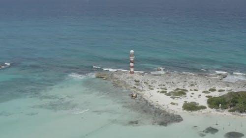 Aerial View of Punta Cancun