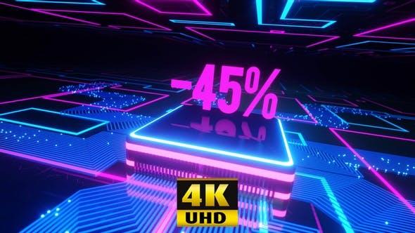 Neon 45% Off 4K