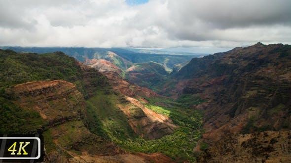Hawaiian Canyon View