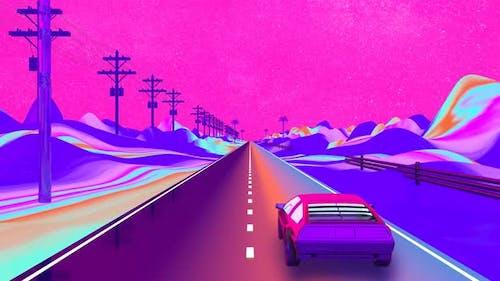 Cyberpunk Night Drive