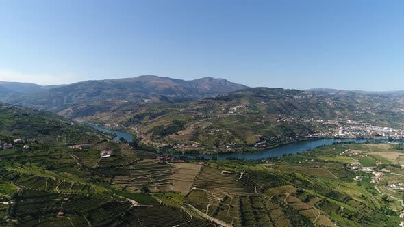 Thumbnail for Aerial Footage Beautiful Nature Portugal.