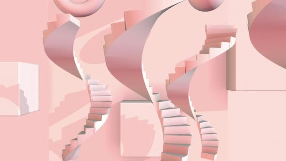 Cover Image for Abstract Stair 01 4k
