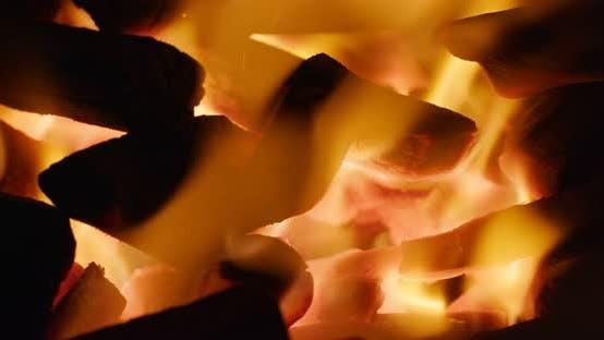 Thumbnail for Hot Flaming Charcoal