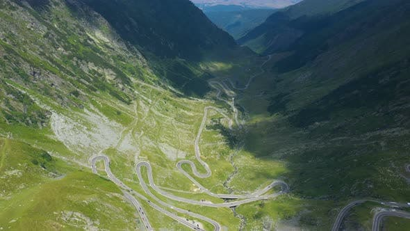 Thumbnail for View Of Famous Romanian Road Transfagaras 14