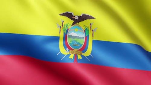 Flag of Ecuador   UHD   60fps