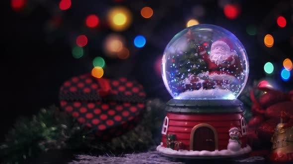 Thumbnail for Santa Claus Magical Sphere Christmas Concept 1