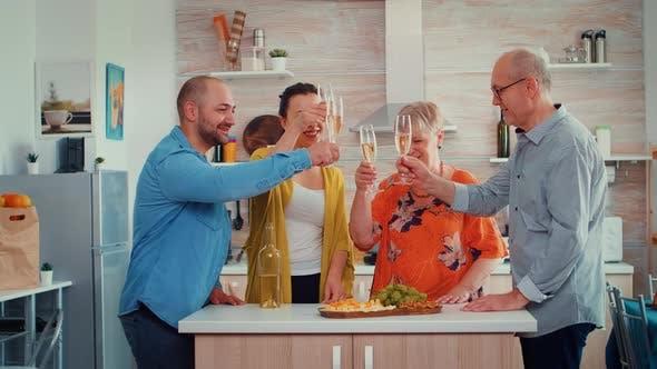 Thumbnail for Extended Family Clinks Glasses