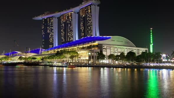 Thumbnail for Marina Bay Singapore Cityscape