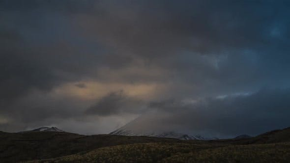 Mount Doom New Zealand timelapse