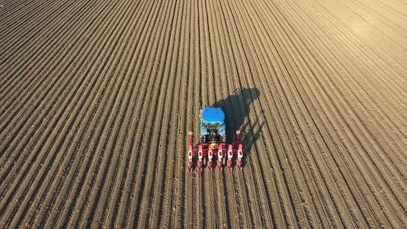 Thumbnail for Tractor Sowing Seed