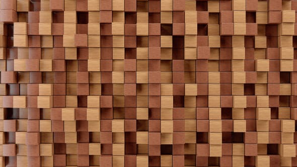 Thumbnail for Wood Blocks Background Loop