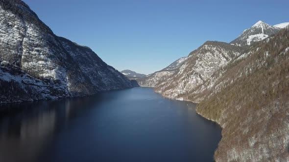 Thumbnail for Winter Flight Over Konigsee Lake, Berchtesgaden, Germany