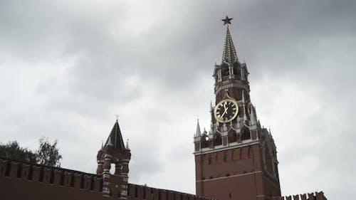 The Kremlin Clock or Chimes on Spasskaya Tower