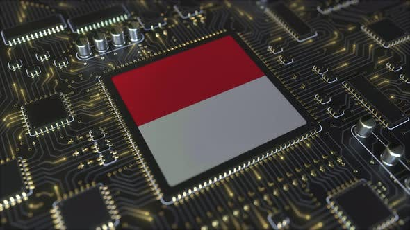 Thumbnail for National Flag of Indonesia on the Operating Chipset