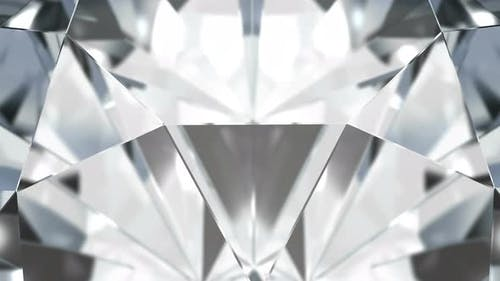 Diamond 4K loop background