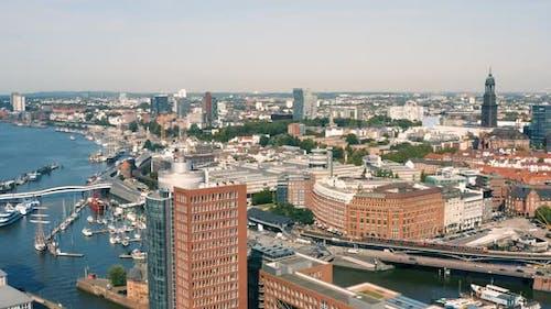 Cityscape of Hamburg