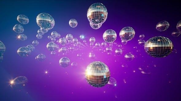 Shining Disco Balls