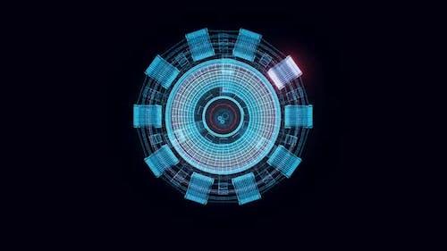 Bogenreaktor Hologramm Rotierende Hd