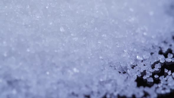 Thumbnail for Panning Across A Pile Of Small White Sugar
