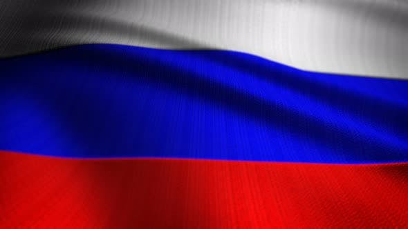 Thumbnail for Russia Flag Seamless Loop