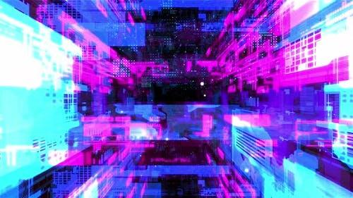 In Machine Network Tunnel 02 4K