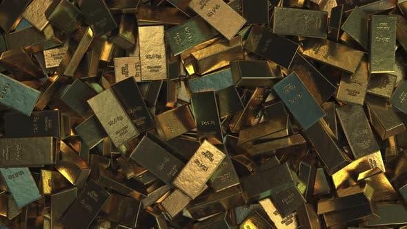 Thumbnail for Big Pile of Gold Bullions