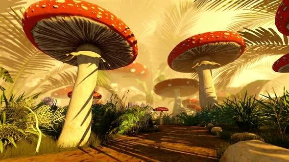 Konzeptionelle Fantasy-Hintergrund