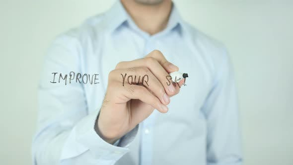 Thumbnail for Improve Your Skills, Writing On Screen