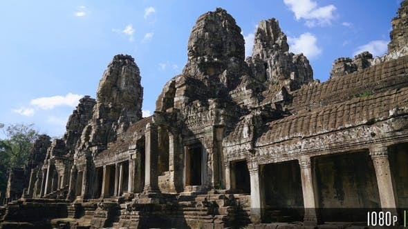 Thumbnail for Bayon Temple Ruins in Angkor Wat, Cambodia