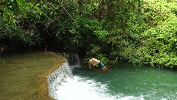 Thumbnail for Backflip At Waterfall